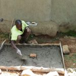 The Water Project: Handidi Community, Matunda Spring -  Sanitation Platform Construction