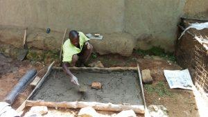 The Water Project : 14-kenya4739-sanitation-platform-construction