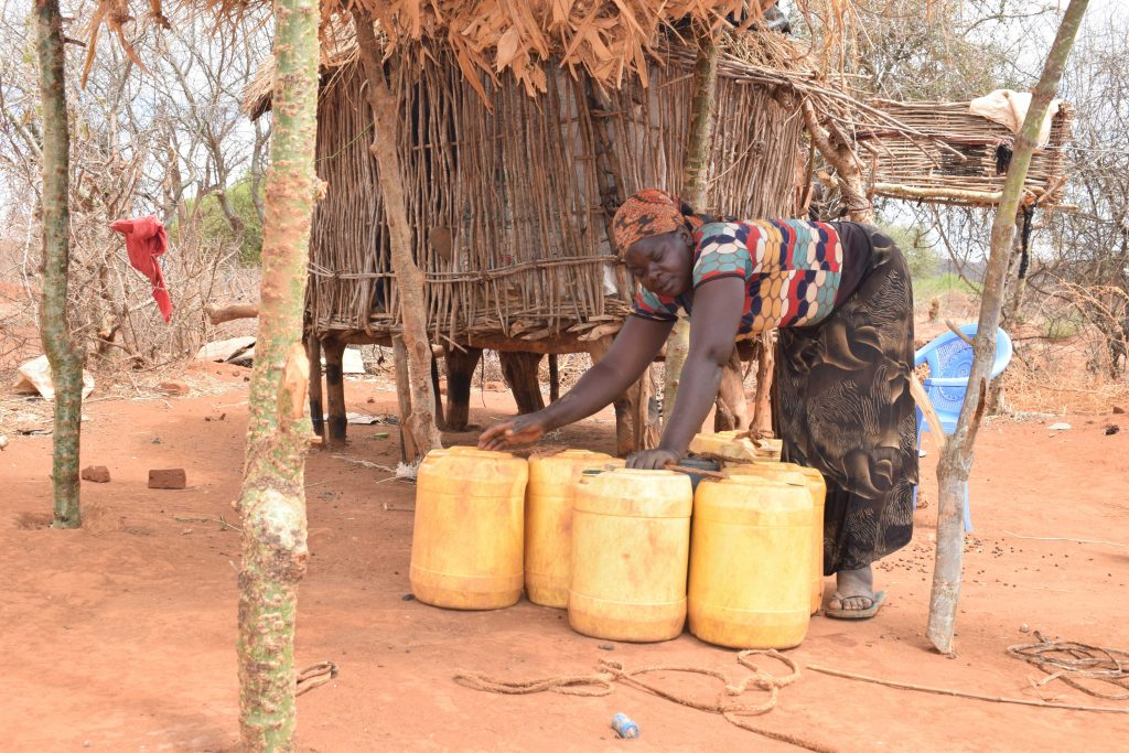 The Water Project : 14-kenya4775-david-household