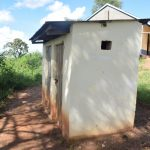 The Water Project: Kyanzasu Primary School -  Staff Latrine
