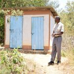 The Water Project: Kivani Primary School -  Staff Latrines