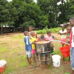 The Water Project: Conakry Dee Community A -  Yield Test