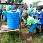 The Water Project: Musunji Primary School -  Hand Washing Stations