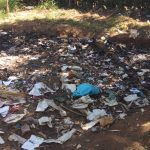 The Water Project: Shanjero Primary School -  Garbage Pile At School