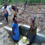 The Water Project: Lutali Community, Lukoye Spring -  Clean Water