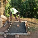 The Water Project: Handidi Community B -  Sanitation Platform Construction