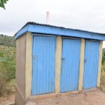 The Water Project: Kasioni Community -  Latrine