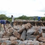 The Water Project: Uvaani Secondary School -  Construction
