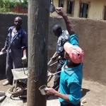 The Water Project: Friends Emanda Secondary School -  Plastering