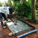 The Water Project: Timbito Community B -  Sanitation Platform Construction
