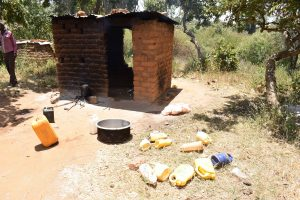 The Water Project:  Kitchen And Water Containers
