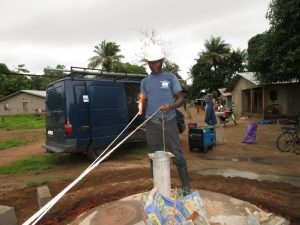 The Water Project:  Measuring Water Levels