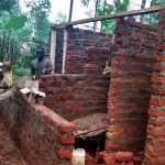 The Water Project: Esibuye Primary School -  Latrine Construction