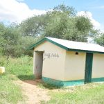 The Water Project: Waita Primary School -  Staff Latrines