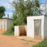 The Water Project: Matheani Secondary School -  Boys Latrines