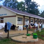 The Water Project: Mwitoti Secondary School -  Clothes Drying