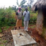 The Water Project: Timbito Community A -  Sanitation Platform