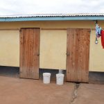 The Water Project: Ikaasu Secondary School -  Girls Bathing Rooms