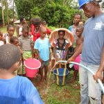 The Water Project: Kitonki Community -  Yield Testing