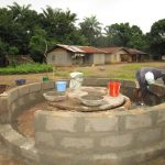 The Water Project: Conakry Dee Community A -  Building The Wall