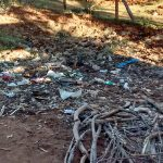 The Water Project: Irenji Primary School -  Garbage Pile