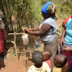 The Water Project: Ikulya Community A -  Hand Washing Training