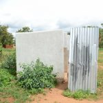 The Water Project: Matheani Secondary School -  Girls Bathing Rooms