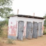 The Water Project: Ikaasu Secondary School -  Girls Latrines