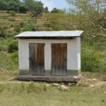 The Water Project: Ilinge Primary School -  Staff Latrines
