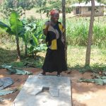 The Water Project: Shikoti Community B -  Sanitation Platform