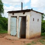 The Water Project: Matheani Secondary School -  Girls Latrines