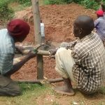 The Water Project: Lugango Community -  Building A Fence