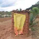 The Water Project: Mitini Community A -  Latrine