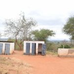 The Water Project: Ikaasu Secondary School -  Boys Latrines