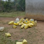 The Water Project: Ilinge Primary School -  Water Containers Students Bring