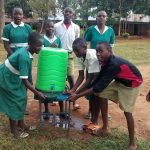 The Water Project: Esibuye Primary School -  Hand Washing Station