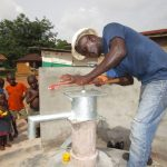 The Water Project: Kitonki Community -  Pump Installation