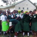 The Water Project: Ibinzo Girls Secondary School -  Hand Washing