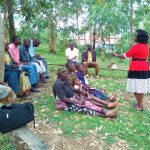 The Water Project: Lutali Community, Lukoye Spring -  Training