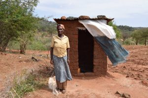 The Water Project:  Tabitha Munywoki At Her Latrine