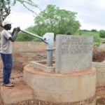 The Water Project: Ikulya Community A -  Finished Hand Dug Well