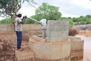 The Water Project:  Finished Hand Dug Well