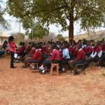 The Water Project: Uvaani Secondary School -  Training