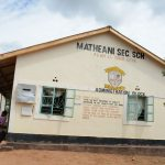 The Water Project: Matheani Secondary School -  School Grounds