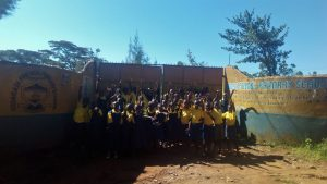 The Water Project:  Students At School Gate