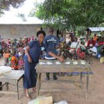 The Water Project: Conakry Dee Community A -  Preparing To Make Hand Washing Stations
