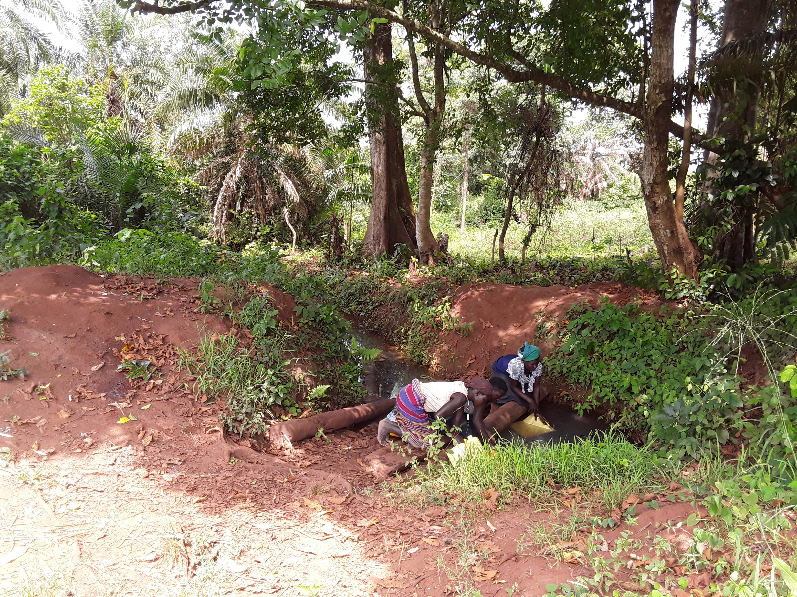 The Water Project : 2-uganda6080-fetching-water