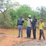 The Water Project: Ikulya Community -  Finished Sand Dam