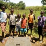 The Water Project: Shivagala Community A -  Sanitation Platform