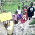 The Water Project: Lutali Community, Lukoye Spring -  Dedication